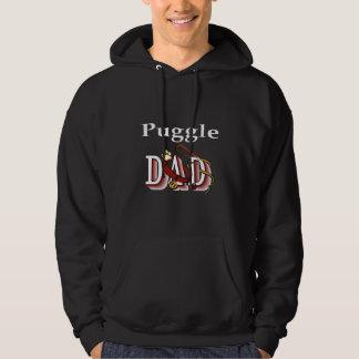 Puggle Vati-Geschenke Hoodie