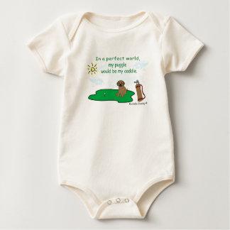 PuggleTan Baby Strampler