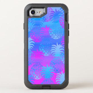 Pukana hawaiische Ananas-Sonnenuntergang-Mischung OtterBox Defender iPhone 8/7 Hülle