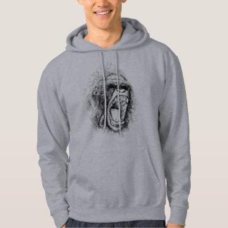 Pullover der schreienden Männer des Affen der