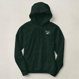 Pullover Hoodie im Armeegrün