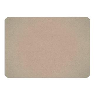 Pulver-Farbblaues Aquarell gealterter Papierblick 12,7 X 17,8 Cm Einladungskarte