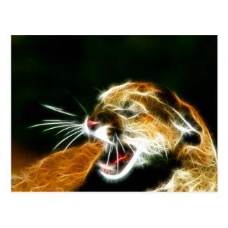 Puma Postkarte