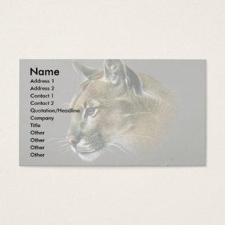 Pumastudie Visitenkarte