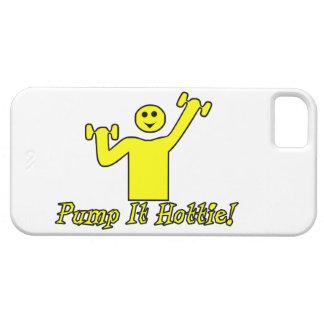 Pumpen Sie es Hottie iPhone 5 Etui