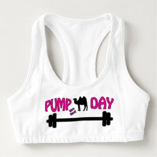 Pumpen-Tag! Fitness-Spaß Sport-BH