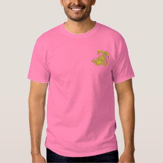 Pumpender Jack Besticktes T-Shirt
