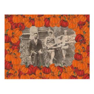 Pumpki Flecken Pix Postkarte