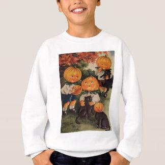 Pumpkinheads (Vintage Halloween-Karte) Sweatshirt