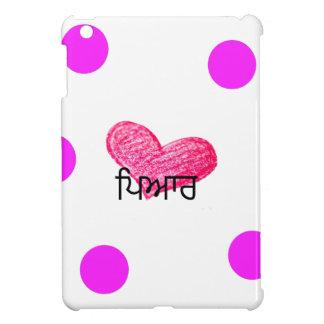 Punjabi-Sprache des Liebe-Entwurfs iPad Mini Hülle