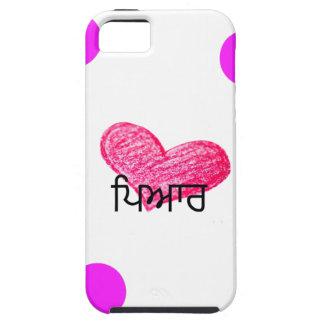 Punjabi-Sprache des Liebe-Entwurfs iPhone 5 Hülle