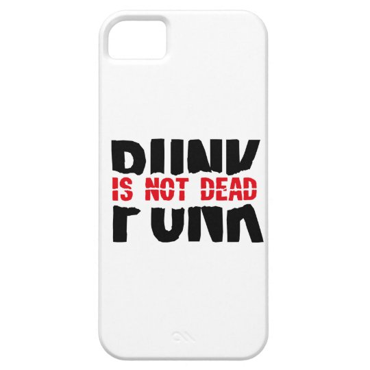 Punk is not dead iPhone 5 cover