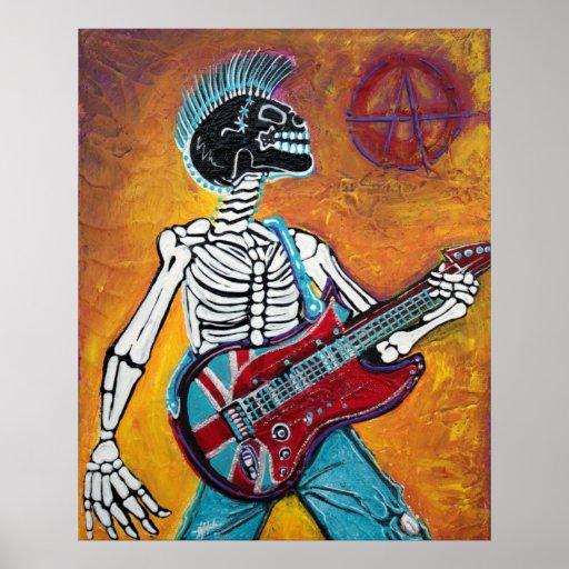 Punk-nicht totes Plakat
