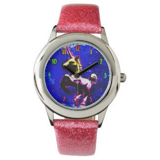 Punkkleiner kuchen der Einhorn-Armbanduhr-| Uhr