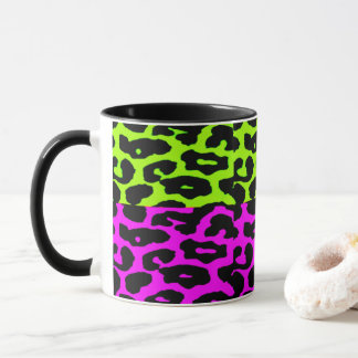 Punkleopard-Kaffee-Tasse Tasse