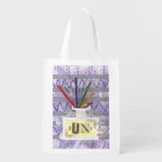 Punkraum-Diffusor-wiederverwendbare Tasche Wiederverwendbare Einkaufstasche