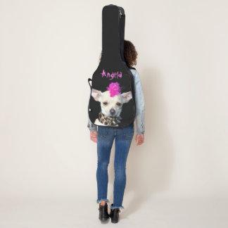 Punkrock-Chihuahuahundegitarrenkasten Gitarrentasche