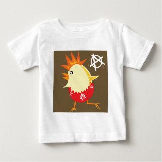 Punkrock-Huhn Baby T-shirt