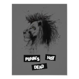 Punks nicht absolut 10,8 x 14 cm einladungskarte