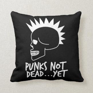 Punks nicht absolut… dennoch Schädel-Dunkelheit Kissen