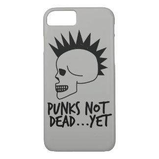 Punks nicht absolut… dennoch Schädel-Weiß iPhone 8/7 Hülle