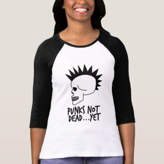 Punks nicht absolut… dennoch Schädel-Weiß T-Shirt