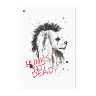 Punks nicht absolut leinwand druck
