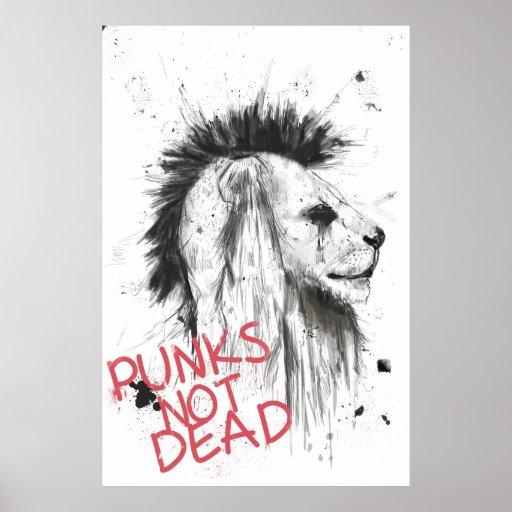 Punks nicht absolut poster