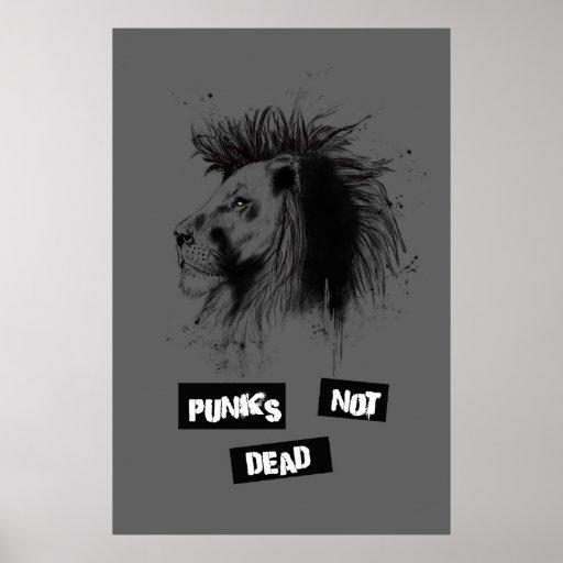 Punks nicht absolut posterdrucke