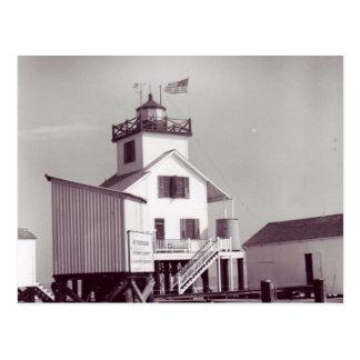 Punkt-Aufer-Riff-Leuchtturm 2 Postkarte