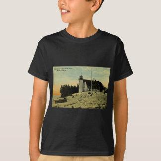 Punkt Betsey Leuchtturm nahe Frankfort Michigan T-Shirt