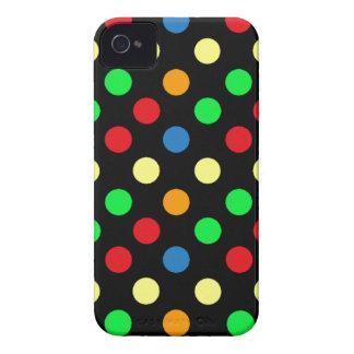Punkt-BlackBerry-mutiger Kasten iPhone 4 Hüllen