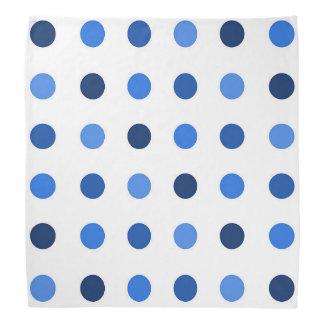 Punkt-Blau Halstuch