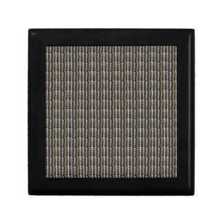 Punkt-Hintergrund-Schablone addieren Text-Fotobild Kleine Quadratische Schatulle