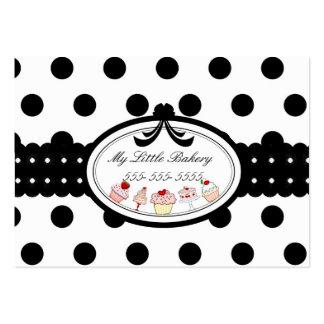 Punkt-kleine Kuchen Mini-Visitenkarten