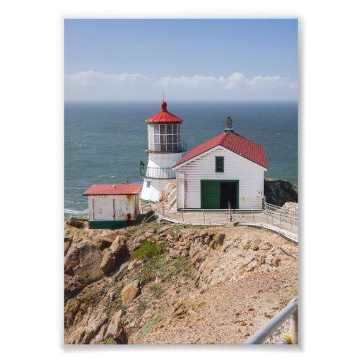 Punkt-Reyes-Leuchtturm, Marin County, Kalifornien Photodruck