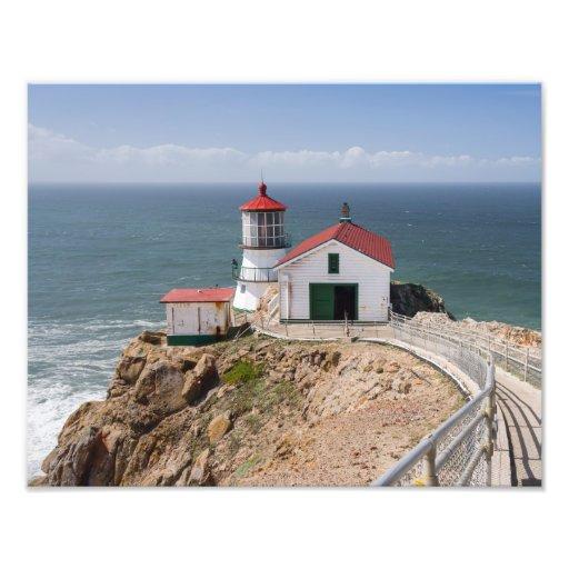 Punkt-Reyes-Leuchtturm, Marin County, Kalifornien Kunstphotos