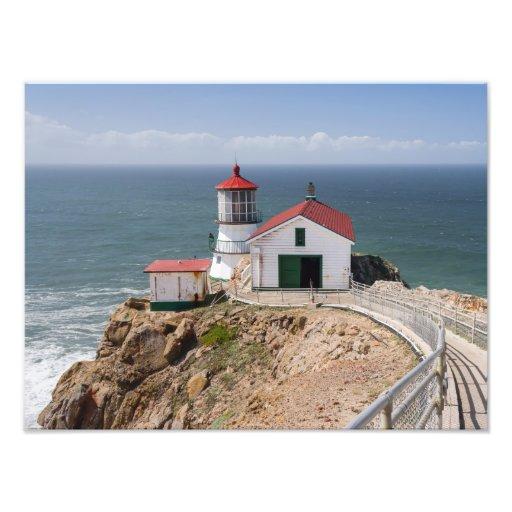 Punkt-Reyes-Leuchtturm, Marin County, Kalifornien Kunst Foto