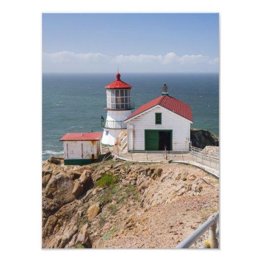 Punkt-Reyes-Leuchtturm, Marin County, Kalifornien Foto Drucke