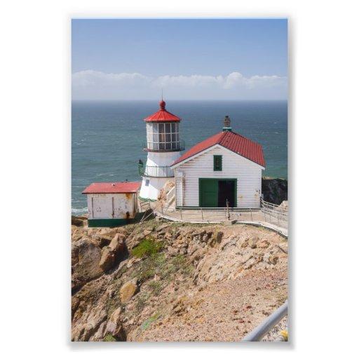 Punkt-Reyes-Leuchtturm, Marin County, Kalifornien Fotografische Drucke