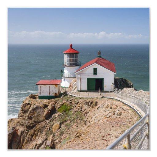Punkt-Reyes-Leuchtturm, Marin County, Kalifornien Kunst Fotos