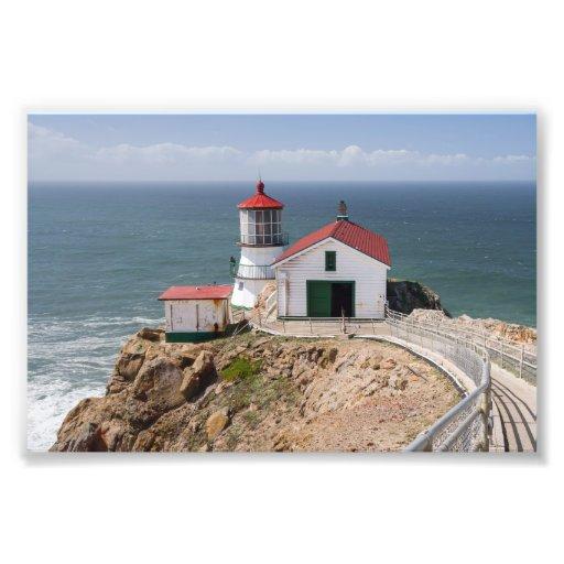 Punkt-Reyes-Leuchtturm, Marin County, Kalifornien Kunstfoto