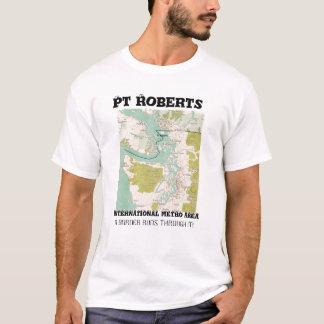 PUNKT-ROBERTS-METRO-BEREICH T-Shirt
