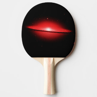 punkt-Rottönung der hubble Ansicht der Tischtennis Schläger