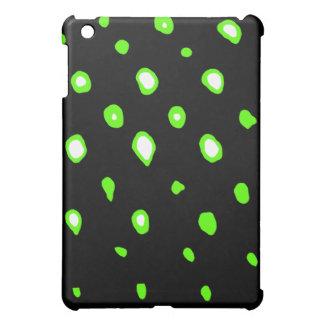 Punkte des Entwurfs-1 grünen die MUSEUM Zazzle Ges Hülle Für iPad Mini