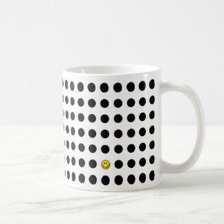 Punkte Kaffeetasse