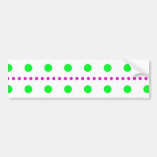 punkte muster polka dots spots tupfen tupfer autoaufkleber