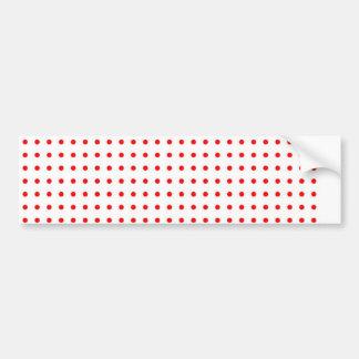 punkte punktiert polka dots rot weihnachten stern autoaufkleber
