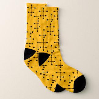 Punkte und Linien Socken