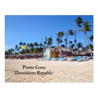 Punta Cana in der Dominikanischen Republik Postkarte